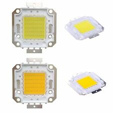 LED High Power 50 Watt COOL, WARM White Panel Chip For Spotlight Light DIY Model
