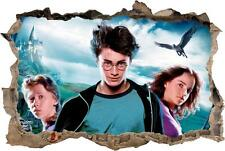 Harry Potter Smashed Wall Decal Removable Wall Sticker Art Hermione Ron H324