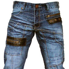 K&M KOSMO LUPO ENGINE MENS JEANS DENIM ALL SIZES