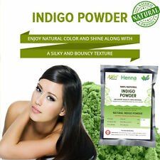 NATURAL INDIGO POWDER100% ORGANIC AND NATURAL WAY OF COLORING HAIR free shipping