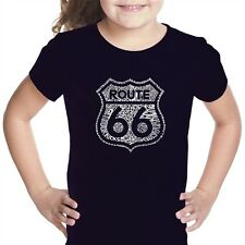 Girl's T-shirt - Route 66 - Get Your Kicks