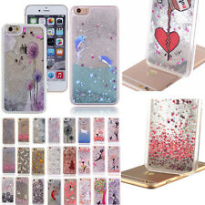 Bling Dynamic Liquid Glitter Star quicksand Case Cover For iPhone 4 5 6 6S Plus