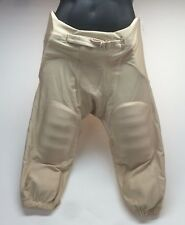 Football America Adult Integrated Football Pant Vegas Gold Men's Sm Large 3XL