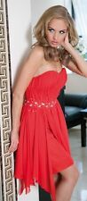 New Ladies Womens Wedding Formal Layered Party Evening Prom Ball Gown Dress