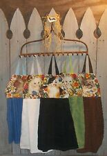 Cats Siamese Maine Coon Tabby Tuxedo Calico Hanging Kitchen Towel  HCF&D