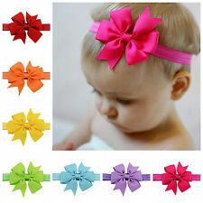 Lowest price!5/10/20 PCS Baby shower Ribbon Bow Hairband Headband Hair Accessory
