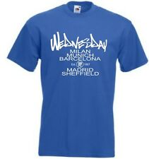 Sheffield Wednesday Football Capitals of Europe T Shirt