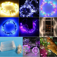 Party Wedding Xmas light 20/30/40 Battery Power Operated Fairy LED Lights String