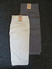 BOYS URBAN PIPELINE TWILL COTTON SHORTS~CLASSIC LENGTH/FLAT FRONT/ADJUSTBL WAIST