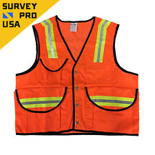 New - Surveyor Safety Vest , Class 2 ANSI