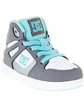 DC Lt Grey-Turquoise Rebound Ul Toddlers Shoe