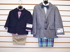 Infant & Boys IZOD 4pc Suits w/ Shorts Size 12 Months - 6