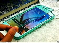 Transparent Green Soft Silicone Gel Flip Case Cover Skin For Samsung Galaxy S6