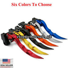 Blade Style Brake & Clutch levers For Kawasaki ZX6R/ZX636R/ZX6RR 2000-2004 New