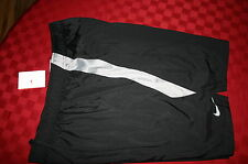 MENS NIKE STAY DRY TRAINING SHORTS BLACK & GRAY POCKETS XXL NWT