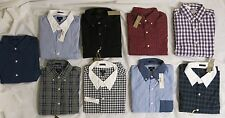 NWT J.Crew Men's Lot Of Button-Down Long Sleeve Shirts
