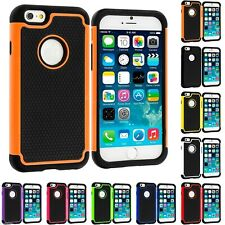 For iPhone 6/6s & 6/6s Plus Heavy Duty Tough Armor Dual Layer Case Cover