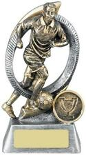 Orbis Football Male Player Antique Gold Various Sizes Available, Own Centrepiece