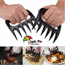 Pair of BBQ Meat Claws Handler Forks Bear Paws Meat Shredder Turkey Lifter Tool