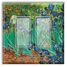 Light Switch Plate Cover Van Gogh Irises  w/ Rocker Switch or Outlet