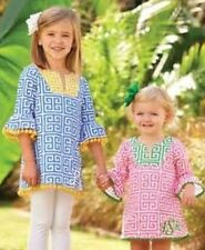 Baby Clothing Mud Pie Girls Safari Blue Or Pink Tunic