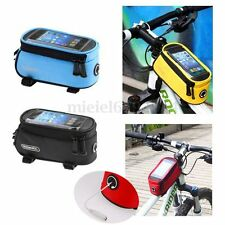 ROSWHEEL 5.5'' BIKE BICYCLE FRONT TUBE FRAME POUCH BAG MOBILE PHONE HOLDER CASE