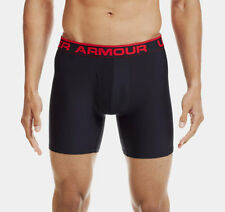 Under Armour Men's The Original 6åÓ Boxerjock Boxer Briefs Black [1230364-001]