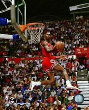 Michael Jordan 1987 Slam Dunk Contest Action Photo