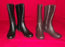 NEW in Box Rockport Womens Ashley Mid Leather Boots with Adiprene by Adidas $130