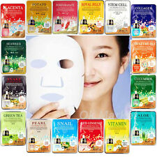 Facial Mask Sheet Pack Face Skin Care Moisture Essence Nutrition Korea Cosmetics
