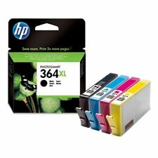 HP364XL Set Of 4 Original High Capacity Printer Ink Cartridges