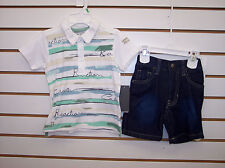 Infant Boys Kenneth Cole Collection $42.50 2pc Shorts Set Size 18 mo - 24 mo
