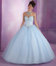 New Beaded Quinceanera Dress Evening Formal Party Wedding Prom Dress Ball Gown