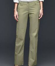 Gap Women's Classic Khaki Pants - Gartland Green - Size 16 Short/Reg/Long - NWT