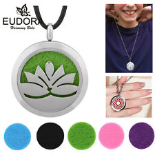 Essential Oils Aromatherapy Fragrance Diffuser Locket Necklace Pendant Charms