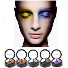 3 Colors Eyeshadow Natural Smoky Cosmetic Eye Shadow Palette Set Make Up