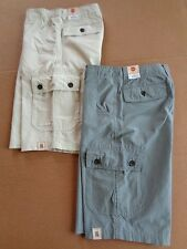 $38 BOYS URBAN PIPELINE COTTON NYLON CARGO SHORTS~CLASSIC LENGTH~ADJUSTABL WAIST