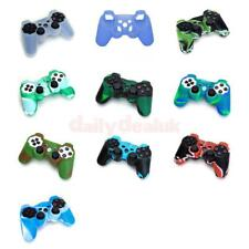 Silicone Protective Skin Case Cover Guard for Sony PS2 PS3 Controller All Colors