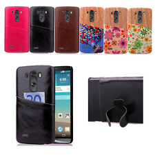 Hard Pattern For LG Optimus G3&G4 Luxury Leather+PC Rugged Case Cover Skin