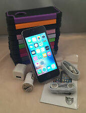 Apple iPhone 5S 16GB Factory Unlocked 4G LTE iOS Black White Gold + FREE CASE