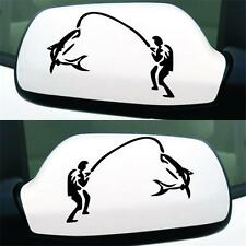 GoFishing High Quality Car Mirror Styling Sticker Water Proof Vinyl Car Decals H
