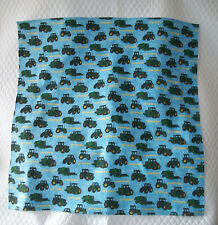 Homemade John Deere Design Receiving Blanket/Burp Cloths