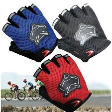 Antiskid Racing Cycling Sports Outdoor Bicycle Mountain Gel Half Finger Gloves