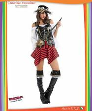 FANCY DRESS PIRATE CARIBBEAN party costumes veneziano for halloween carnival cos
