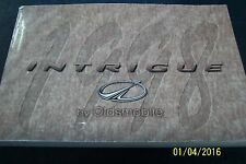 1998 OLDSMOBILE INTIGUE OWNERS MANUAL