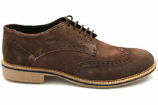 Mens Suede Leather Lace Up Formal Casual Brogues Shoes Size UK 6 7 8 9 10 11 12