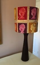 New Handmade Lampshade - Prestigious first Class Stamps Mulberry - 1st Bespoke