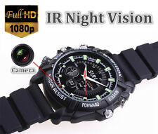 HD 1080P 8G 16G 32G Spy Watch Camera Waterproof Hidden camcorder Pinhole DVR Cam