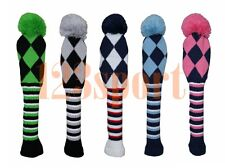 Pom Pom Wool Knitted Golf Driver/Fairway Wood Headcover For Taylormade Callaway