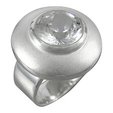 Schmuck-Michel Ring Silver 925 Rock Crystal 6 Ct Jewelry Size 50-65 Select. 1110